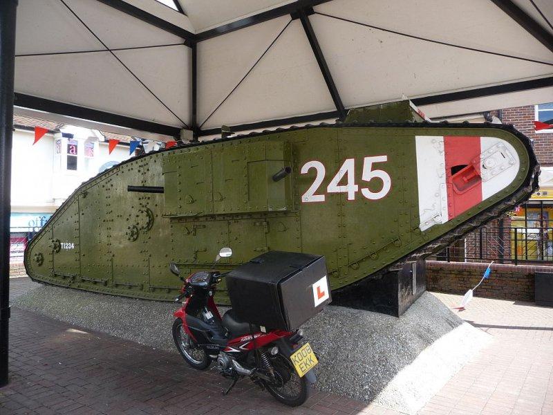Mk-IV в музее
