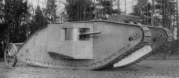 British_Mark_I_Tank_samec