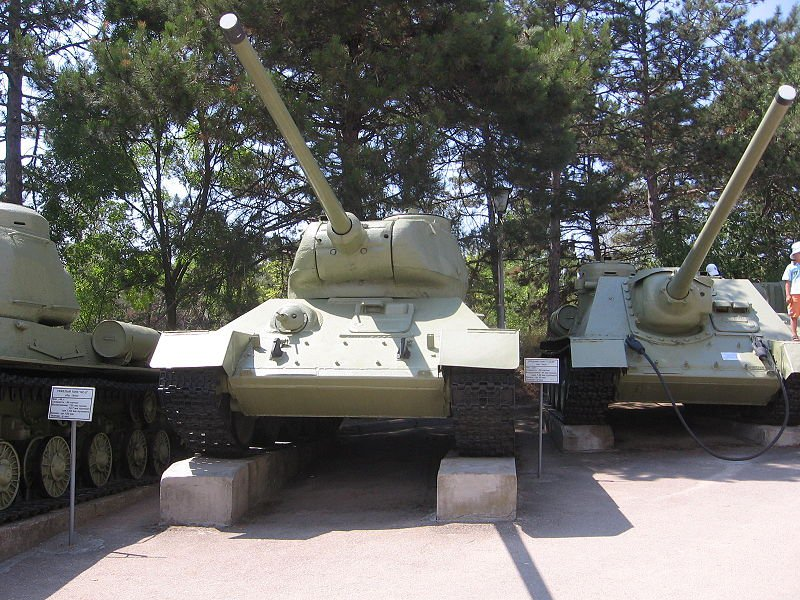 T-34-85_на Сапун горе в Севастополе