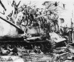 Подбитый Т-54 с солдатами южновьетнамской армии.jpeg