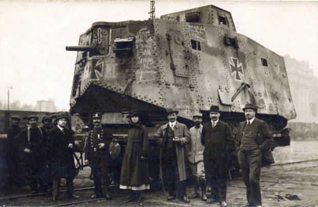 Первые танки Германии