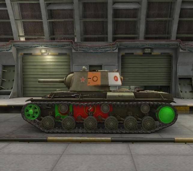 Уязвимые места танка в боковой