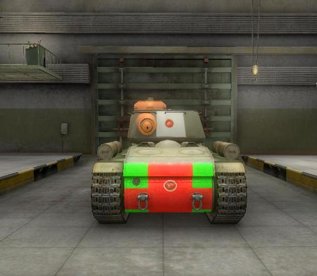 Уязвимые места в корме танка