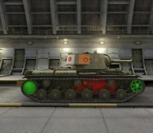 Уязвимые места танка в боковой проекции