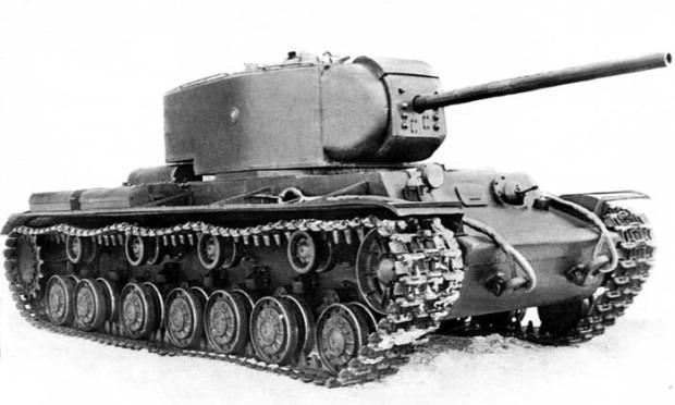 КВ-220 вид сбоку