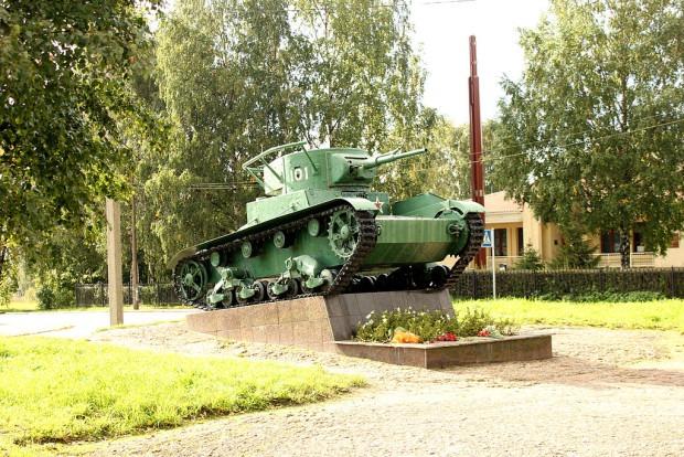 Т-26 в Выборге