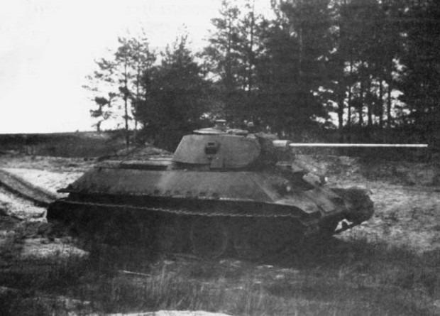 Т-34-57 на испытаниях