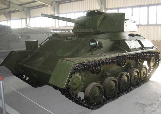 Т-80 в музее в Кубинке
