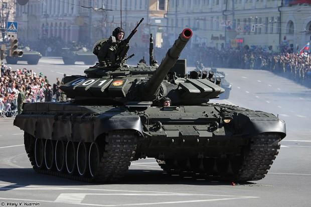 T-72Б3 на параде