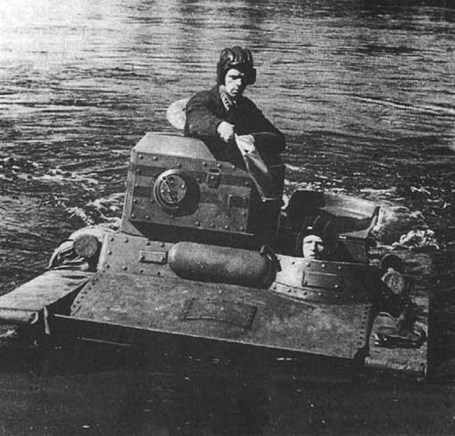 Т-37А фото танкетки в воде