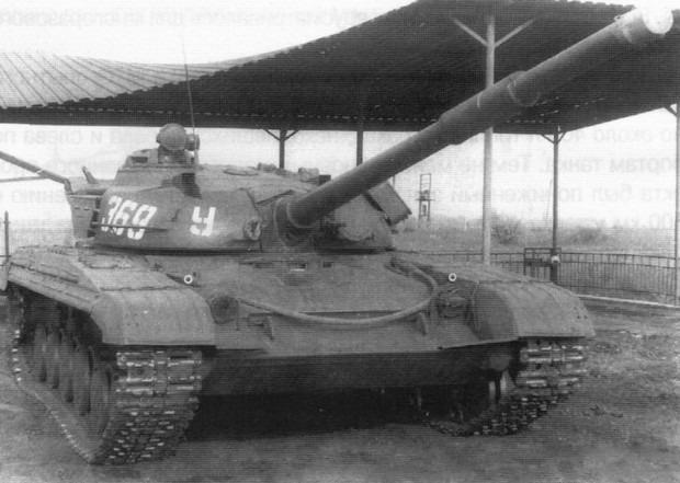 Первоначальная модель Т-64 фото