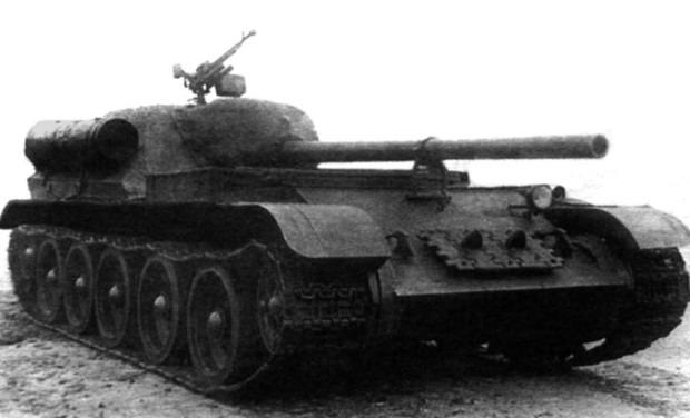 СУ-101 вид спереди