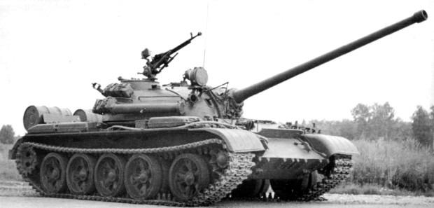 Т-54 вид сбоку фото