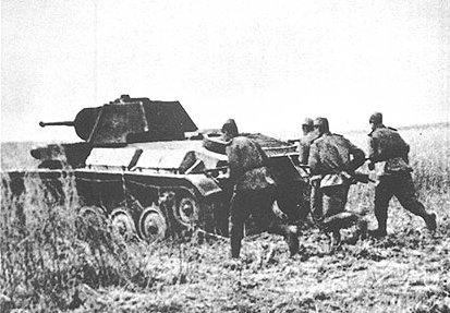 Т-70 - советский легкий танк