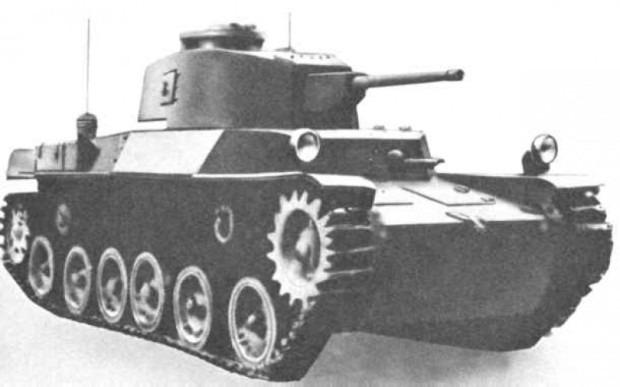 Японский танк Чи-Хе