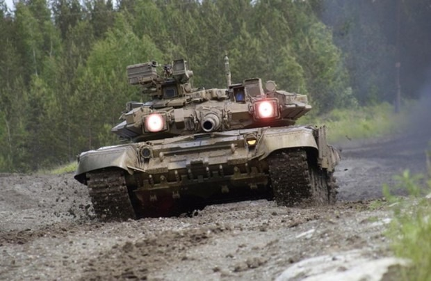 Т-90 Вид спереди фото