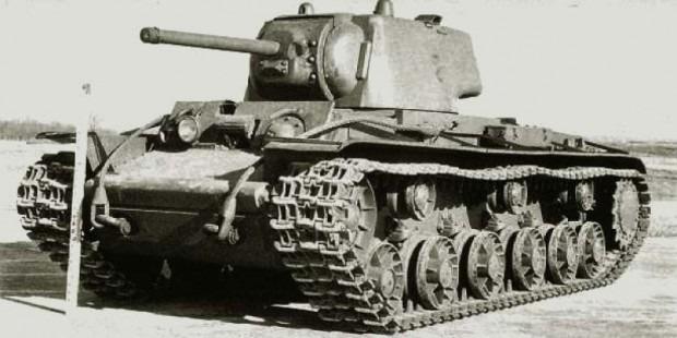 КВ-1 - первый серийный тяж СССР фото