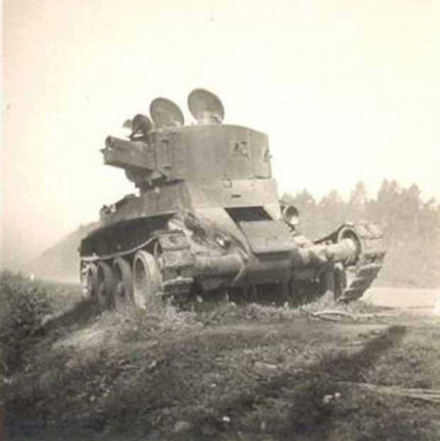 Артиллерийский БТ-7