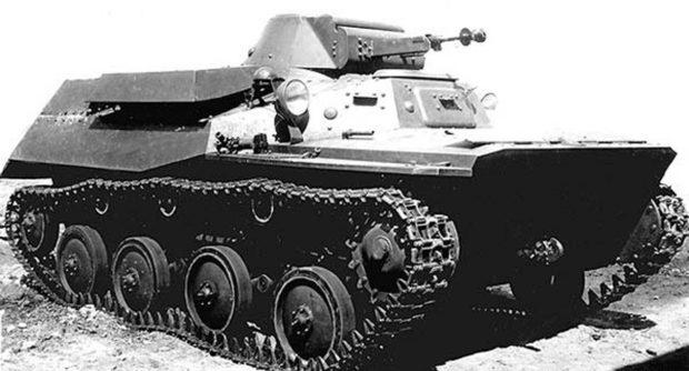 Т-40 с пулеметом